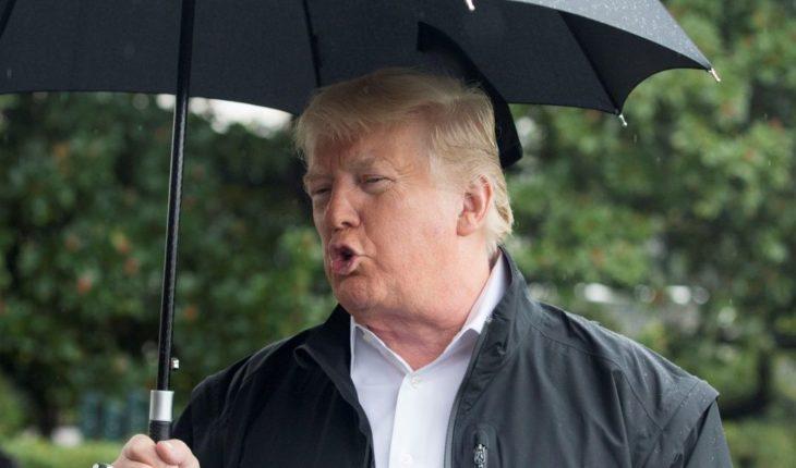 Donald Trump visita Florida tras el paso del huracán 'Michael'