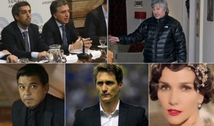 Dujovne defendió el presupuesto, comienza el juicio a Lázaro Báez, Gallardo y Guillermo suspendidos, nueva serie de Natalia Oreiro y mucho más...