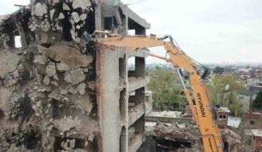 """El """"Elefante Blanco"""" de Lugano ya es historia: concluyó su demolición"""