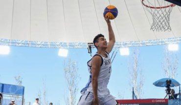 El argentino Fausto Ruesga se quedó con el oro en el concurso de volcadas de básquetbol