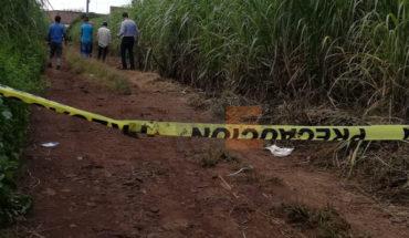 El cadáver de un jornalero fue encontrado en una zanja de Los Reyes, Michoacán