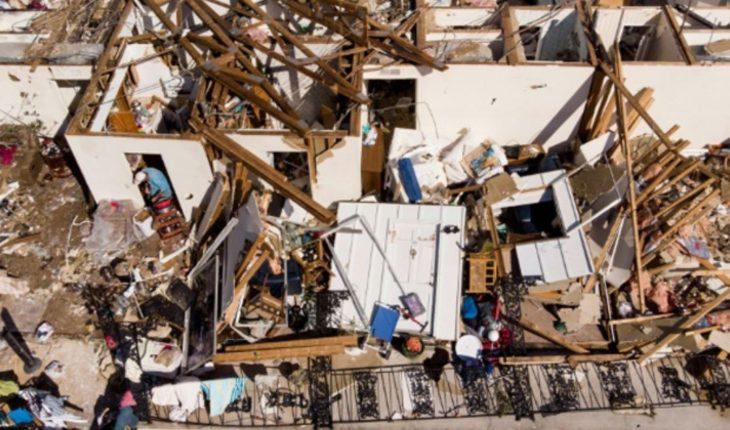 """El devastador huracán """"Michael"""" deja 16 muertos"""