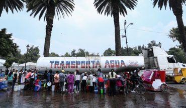 El programa emergente de CDMX para las 96 horas sin agua