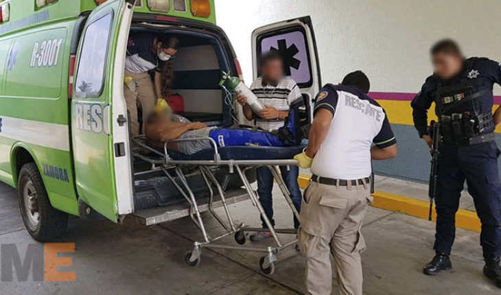 En Zamora, Michoacán, por culpar de robo a un hombre, lo hieren de bala