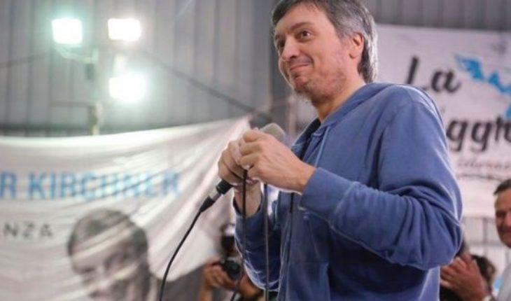 """En el homenaje a Nestor, Maximo Kirchner le apuntó al Gobierno: """"Se tiene que acabar"""""""