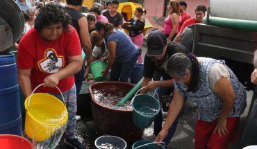 Escuelas de CDMX suspenderán clases por megacorte de agua