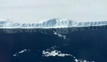 Este es el iceberg rectangular que la NASA descubrió en la Antártida