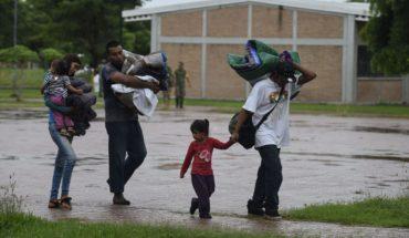 Evacúan a 1,800 personas en Escuinapa, Sinaloa, por huracán Willa