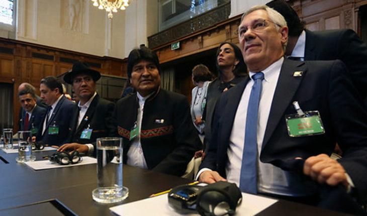 """Evo Morales tras el fallo: """"Bolivia nunca a renunciar a su enclaustramiento"""""""