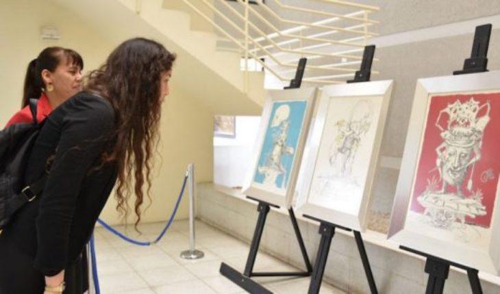 """Exposición """"Los Sueños Caprichosos de Pantagruel"""" llega a Copiapo con 26 grabados de Salvador Dalí"""