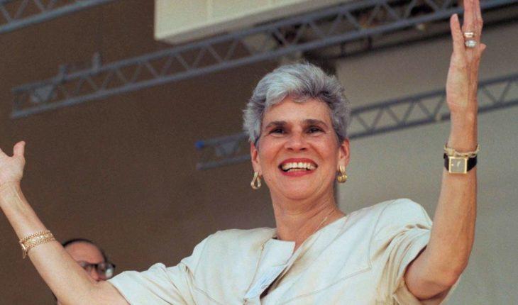 Expresidenta Violeta Barrios de Chamorro sufre embolia cerebral