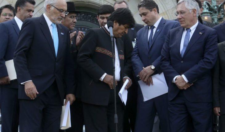 """Expresidentes bolivianos por el fallo de La Haya: """"De lo único que hay que arrepentirse en la vida es de no luchar"""""""