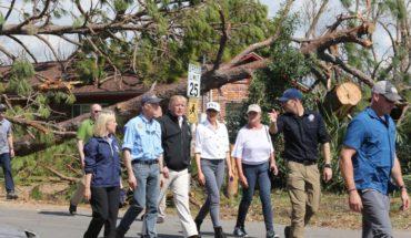 Familiares buscan a desaparecidos tras paso del huracán Michael en Florida