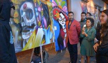 Festival de arte urbano, abre programa cultural de noche de ánimas: Víctor Báez