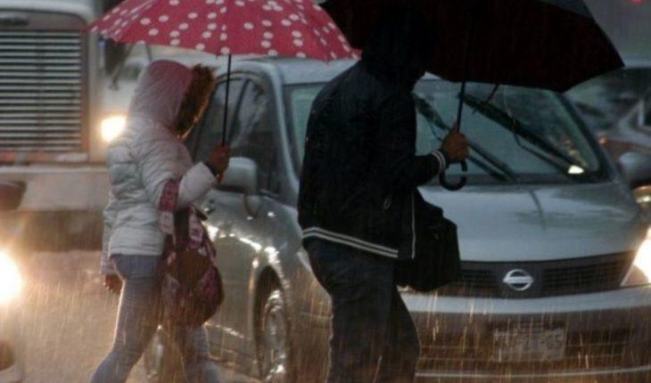 Frente frío ocasionará bajas temperaturas y potencial de lluvias