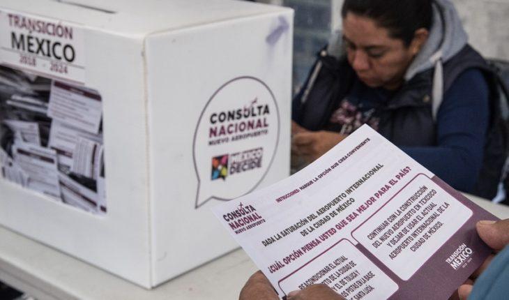 Adiós al NAIM: La opción de construir pistas en Santa Lucía gana en la consulta convocada por López Obrador