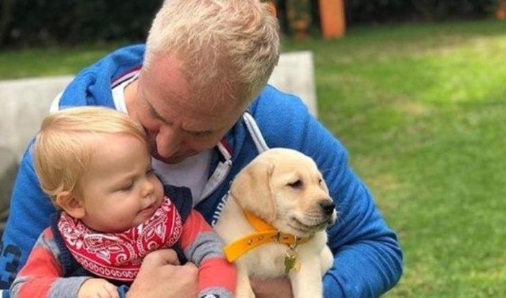 Hace un año Marley se convertía en padre: las emotivas fotos del nacimiento de Mirko
