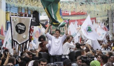 Haddad advierte a brasileños sobre peligros con Bolsonaro