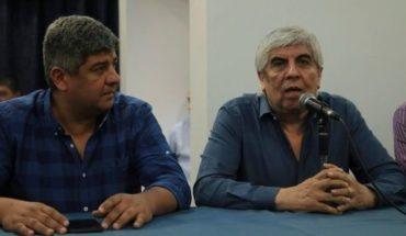 """Hugo Moyano sobre el pedido de arresto de su hijo Pablo: """"Es un disparate del Gobierno"""""""