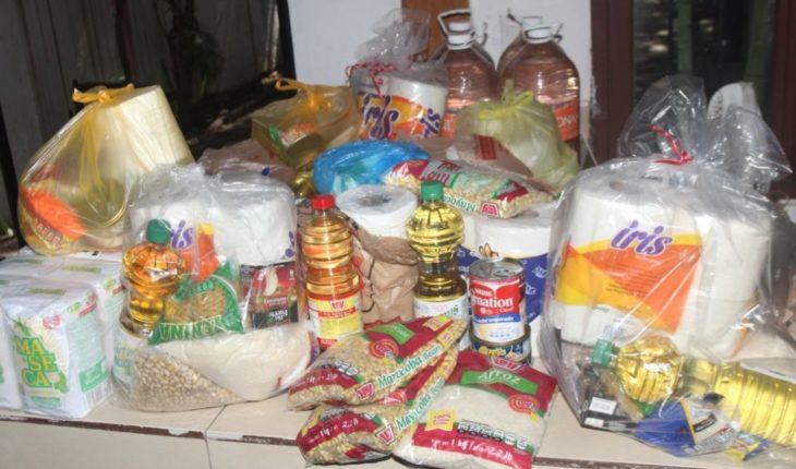 Instalan centros de acopio de víveres para afectados por Willa
