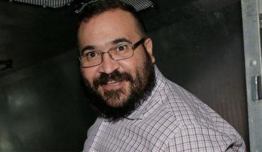 Javier Duarte ex gobernador de Veracruz inconforme con la mínima sentencia y apela