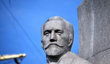 Estatua de Joseph Conrad en Gydnia (Polonia). Foto: petrOlly (CC BY-NC-ND 2.0). Blog Elcano