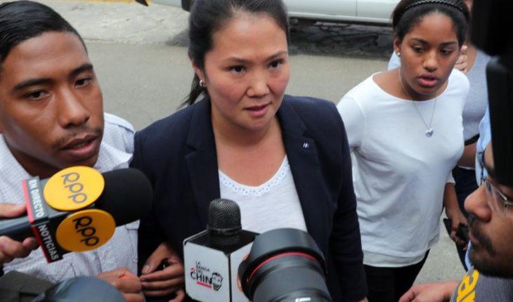 Keiko Fujimori acusó persecución tras el fin del indulto a su padre