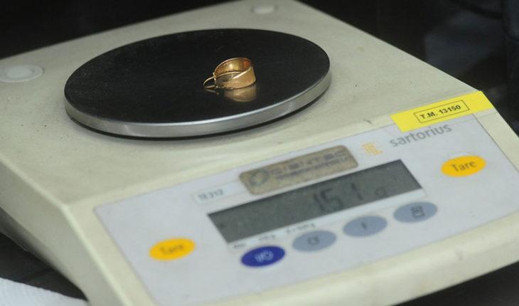 """La """"Tía Rica"""" subió el precio de la tasación por el gramo de oro"""