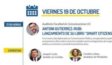 La charla en la UC del cerebro catalán detrás de la estrategia política de Joaquín Lavín