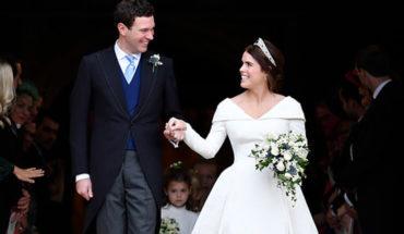 La princesa Eugenia se casó en el Castillo de Windsor