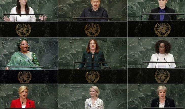 Las mujeres pisan fuerte en la ONU
