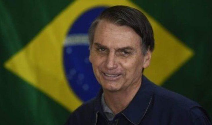 Los primeros anuncios de Bolsonaro, a contramano de Macri
