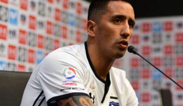 """Lucas Barrios: """"Necesitamos clasificar a una copa porque Colo Colo tiene que estar"""""""