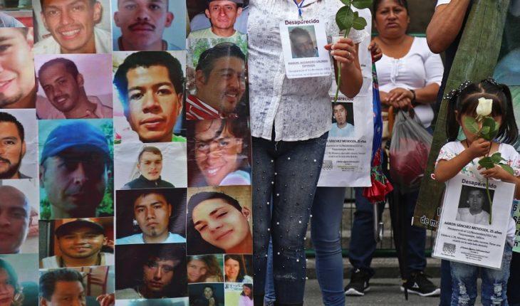 México busca a 37 mil desaparecidos con un Sistema incompleto