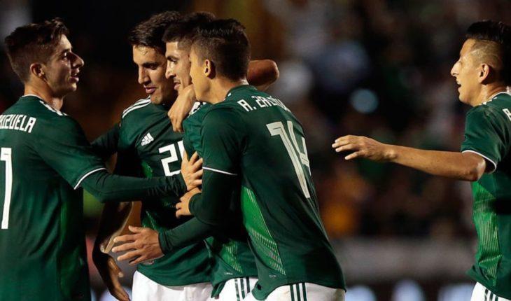 México remonta y vence 3-2 a Costa Rica en partido amistoso
