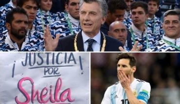 Macri felicitó a los atletas, Ni una Menos se pronunció por el caso Sheila, se va Pity Martínez y mucho más...