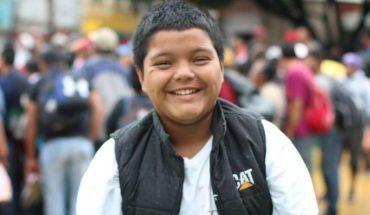 Mario Castellanos, el niño que viaja solo hacia Estados Unidos