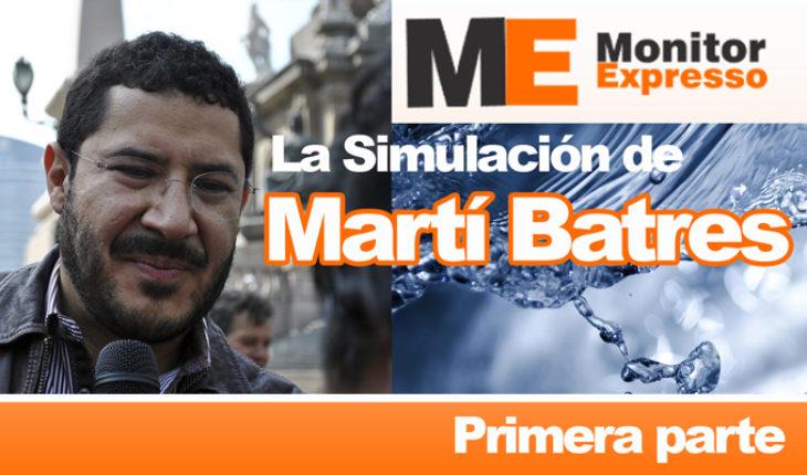 Martí Batres evade responsabilidad sobre Ley General de Aguas