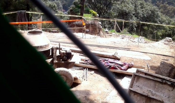 Muere trabajador en un derrumbe en Ciudad de México