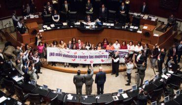 Noé Castañón, acusado de violencia familiar, rinde protesta como senador