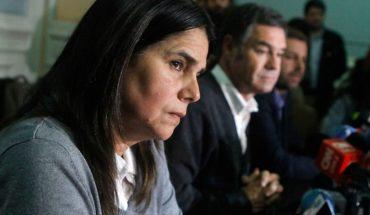 """Oposición calificó como """"correcta"""" decisión de la diputada Ossandón de entregar a su hijo a la policía"""