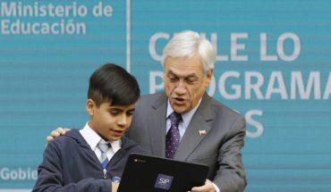 """Piñera lanzó la campaña """"La Hora del Código"""" que impulsa la transformación digital"""