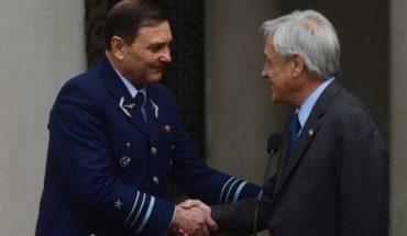 Piñera nombró a Arturo Merino Núñez como nuevo comandante en jefe de la Fach