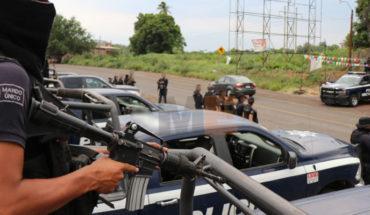 """Policías y gatilleros protagonizan balacera en el cerro de """"Los Ahorcados"""" de Zacapu, Michoacán"""