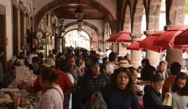 Por celebración de Noche de Ánimas, inicia peatonalización del Centro Histórico de Pátzcuaro