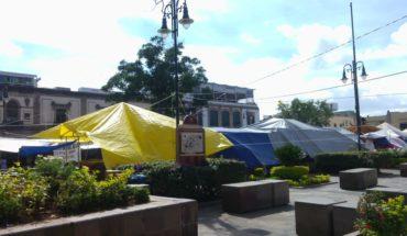 Por festivales, Canaco exige al Ayuntamiento de Morelia, aplicar la ley y retirar comerciantes de la Plaza Ocampo