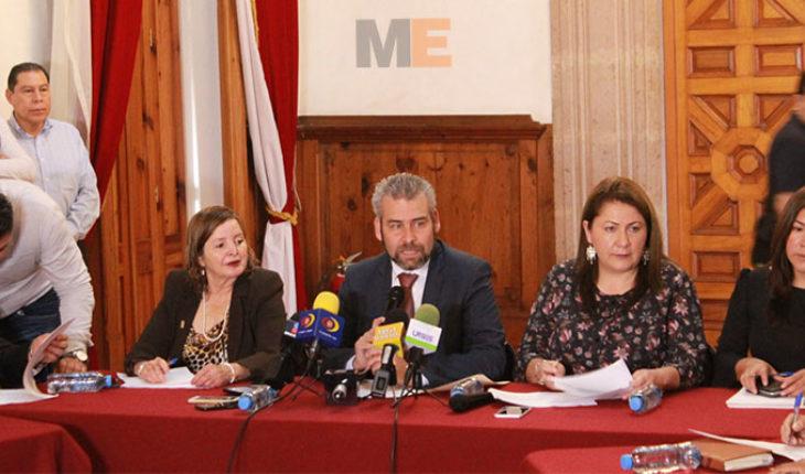 Presenta bancada de Morena su agenda legislativa; combate a la corrupción y austeridad, principales ejes