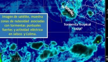 Provocará 'Tara' fuertes lluvias en 14 estados y CDMX