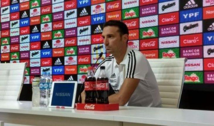 Scaloni confirmó que Messi por ahora no vuelve a la Selección