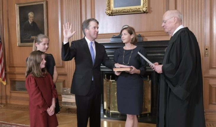 Senado confirma a Kavanaugh a Corte Suprema